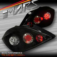 Black LED Altezza Tail Lights Taillight for Holden Astra Hatch 5 Doors 04-11