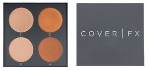 Cover FX The Perfect Light Highlighting Palette - Medium-Deep - Boxed
