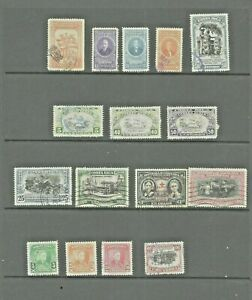 COSTA RICA - 1942-1950 - SELECTION OF USED STAMPS (16) - GOOD VALUE
