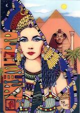 Elizabeth Taylor - Cleopatra - 3D Lenticular Postcard Greeting Card