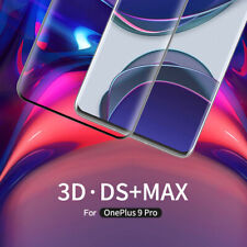 For OnePlus 9 Pro NILLKIN 3D DS+ MAX Tempered Glass Curved Full Screen Protector