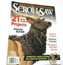 Scroll Saw Woodworking & Crafts Magazine 21 Projects Halloween Skeleton Animals