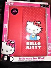 hello kitty cartoon Sanrio folder travel case ipad 2,3,4 school college folio