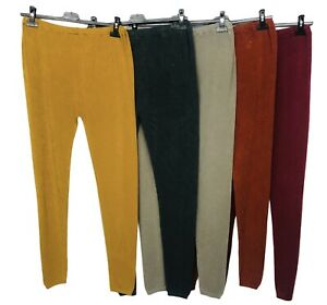 New Womens Ladies ITALIAN Warm Trouser Leggings Soft Feel Thermal Warm Winter UK