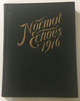 State Normal School Johnson Vermont 1916 Echoes Yearbook