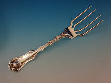 """Imperial Queen by Whiting Sterling Silver BBQ Serving Fork 7 1/4"""" Custom"""
