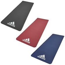 Adidas 7mm Exercise Mat Gym Training Large Thick Padded Lightweight Workout
