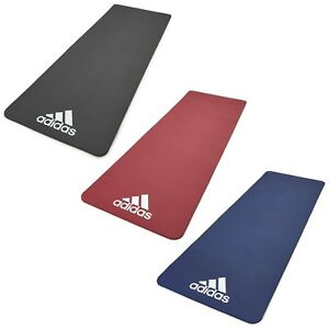 Adidas Exercise Mat Gym Training Large Thick Padded Fitness Workout 7mm or 10mm