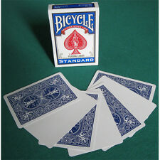 Singola Carta Bicycle Gaff Cards dorso Blu fronte Bianco US2212