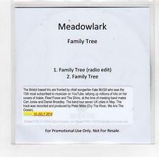 (GI318) Meadowlark, Family Tree - 2014 DJ CD