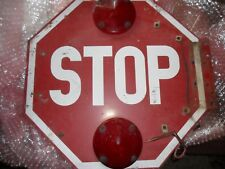 STOP SIGN GREAT FOR GARAGE OR MANCAVE  THIS WEEK FREE SHIPPING IN U.S.A.