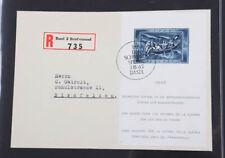 Schweiz guter Posten Blocks postfrisch, gestempelt oder auf Brief
