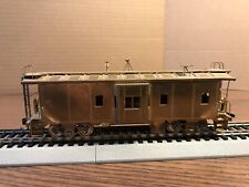 Caboose Bay Window Southern Pacific brass un-painted HO Balboa Scale Models