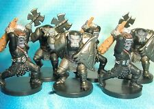 Dungeons & Dragons Miniatures Lot  Orc Raider Orc Brute Attack !!  s114