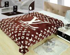 LARGE HOT brand LV burberry Versace blanket 150x200cm luxury logo men women gift