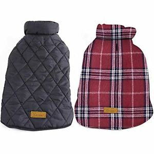 Kuoser Dog Coats Dog Jackets Waterproof Coats for Dogs Windproof Cold Weather
