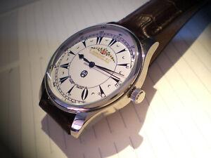 Turkish Empire, Ottoman, Historic Scripted Serkisoff Dial, Replica Wrist Watch.