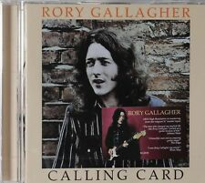 Rory Gallagher-Calling Card UK hard rock blues remaster cd 1 bonus track
