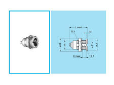 Lemo 0S Series Connector, 4 Pole, Chassis-Mount Socket