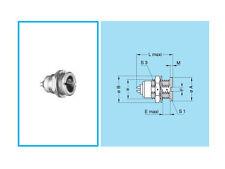 Conector de la serie Lemo 0S, 4 polos, chasis-Mount Socket