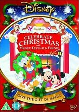 Celebrate Christmas With Mickey Mouse, Donald & Friends Disney New & Sealed DVD