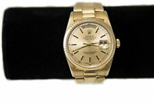 Rolex Day Date President 18238 18k Gold Double Quickset Watch -FREE SHIPPING-