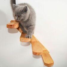 Wall-mounted Cat Climbing Ladder Wood Stairs Jumping Platform Cat Climbing Frame