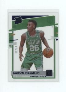 2020-21 Clearly Donruss - Blue - Rated Rookie - #65 - Aaron Nesmith #47/99