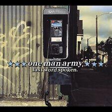One Man Army - Last Word Spoken [New Vinyl]