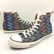 Converse Chuck Taylor x Missoni Size 8 / 10 Auburn/Black High Top Shoe 151254C