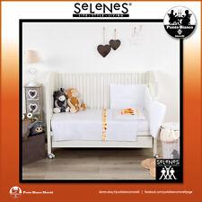 SELENES | PULCINO Lenzuola lettino baby – Full bedsheet for baby