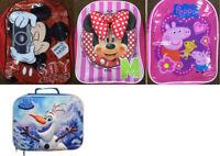 Kids Disney Minnie Mickey Mouse Peppa Pig Frozen Backpack Rucksack School Bag