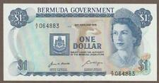 1970 BERMUDA 1 DOLLAR NOTE UNC
