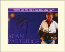 STEVE COOGAN ALAN PARTRIDGE LAPDANCER PP MOUNTED SIGNED AUTOGRAPH PHOTO PRINT