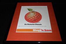 1985 Shop n Save Supermarkets 11x14 Framed ORIGINAL Vintage Advertisement