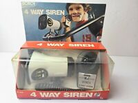 VINTAGE RARE 1970'S DORCY 4 WAY BICYCLE SIREN HORN