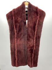 Maison Martin Margiela Nutria Fur Shawl Scarf INCREDIBLE $1800 Retail