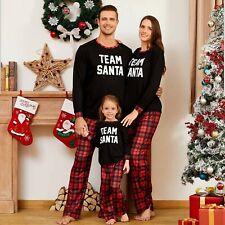 Mujeres Para hombres Pijama para Dormir Familia Juego Navidad Pijamas Conjuntos De Pijama De Navidad