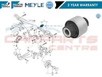 FOR SKODA REAR LOWER CONTROL SUSPENSION ARM INNER BUSH MEYLE GERMANY NEW