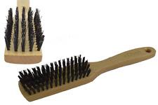 Dr. Dittmar Herren Haarbürste Frisierbürste Pflegebürste Naturborsten Buchenholz