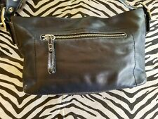 Coach No.HO5S-1417 Black Satchel leather purse shoulder bag* Euc 😍
