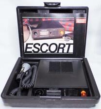 New listing 1980s Cincinnati Microwave Escort Radar Warning Receiver Detector W/Case Manual
