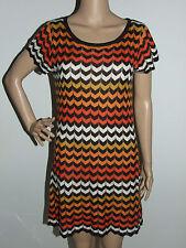 Target Stripes Short Sleeve Dresses for Women