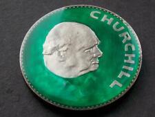 More details for 1965 hand enamelled churchill crown 5 shillings 1874 - 1965 ww2 prime minister d