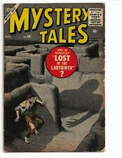 MYSTERY TALES 44 - VG 4.0 - LABYRINTH COVER STORY - HORROR (1956)