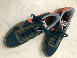 Nike AIR VORTEX  VNTG Sneakers Khaki Navy Orange US 12 Men's Shoes 429773 383 JP