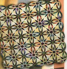 Bali Wedding Star Paper Piecing Quilt Pattern Niemeyer