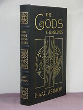 signed intro,The Gods Themselves by Isaac Asimov,Easton Press,Hugo/Nebula awards