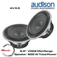 """Audison AV 6.5 - 6.5"""" 16.5cm VOCE Mid-Range Speaker 400 Watts Total Power"""