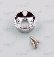 Telecaster ® Elecstrosocket aftermarket jack plate , HJ010, Chrome  with screws